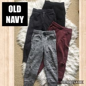 OLD NAVY 4-Pc Relaxed Drawstring Joggers SML 6-7